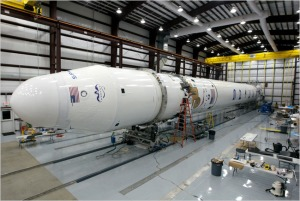 Falcon 9 et Dragon