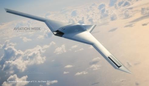 Le RQ-180, développé par Northrop Grumman.
