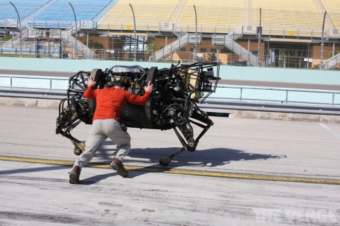 LS3 de Boston Dynamics