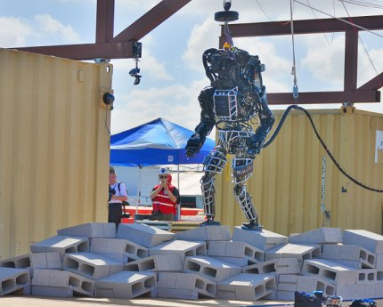 Atlas, le robot fourni par Boston Dynamics