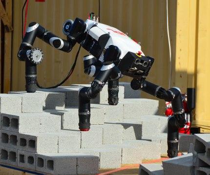 Robosimian, le robot du JPL.