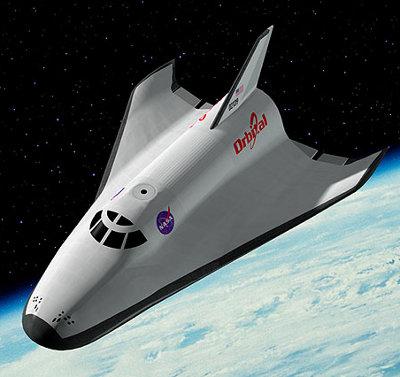 Le projet annulé de navette spatiale Prometheus.