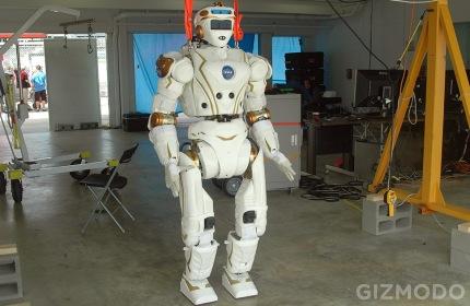 Le robot Valkyrie de la NASA.