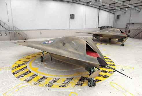 Le drone secret de BAE system Taranis.